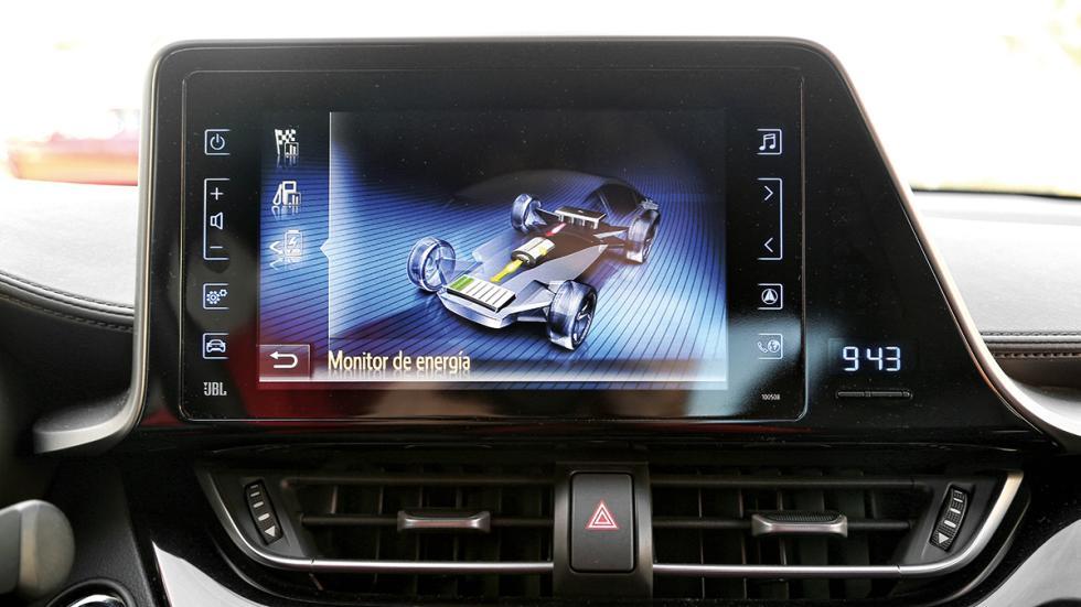 Toyota C-HR navegador