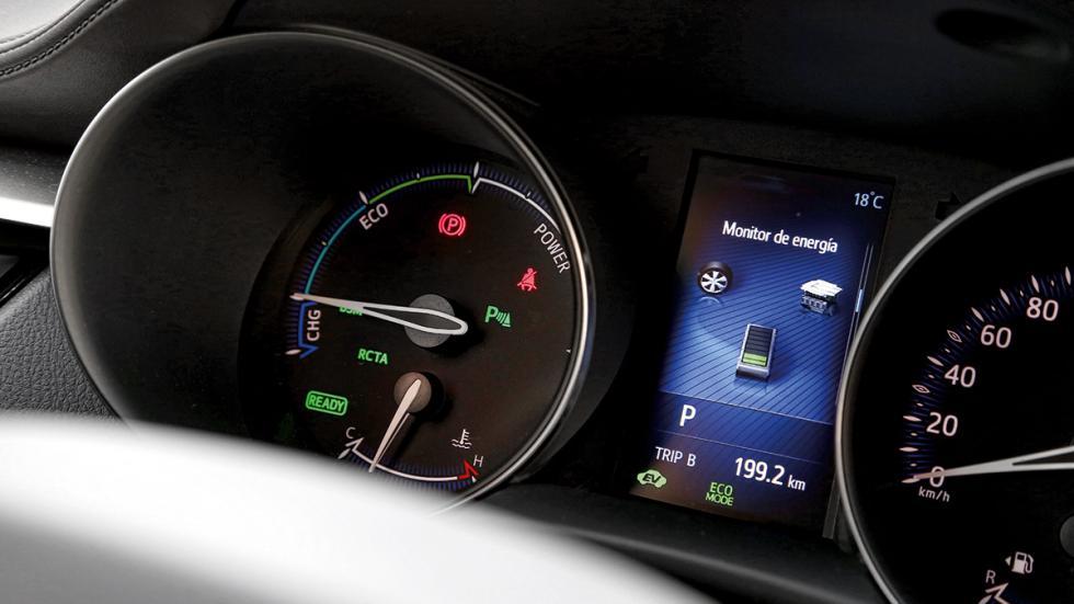 Toyota C-HR cuadro mandos
