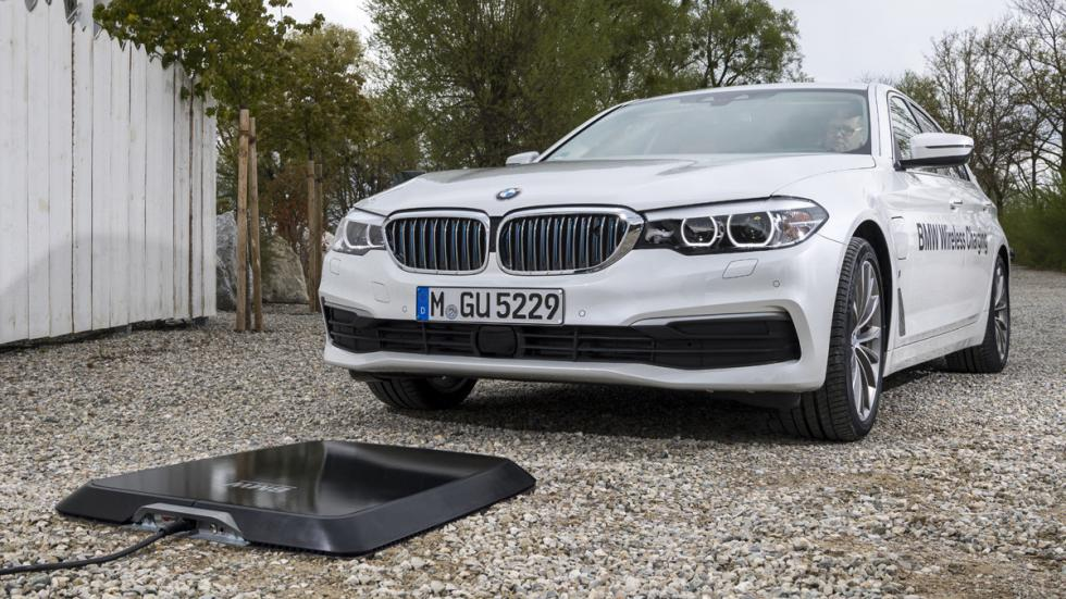 Sistema carga inalámbrica BMW 530e iPerformance