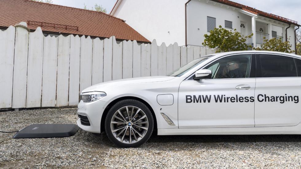 Sistema carga inalámbrica BMW 530e iPerformance perfil