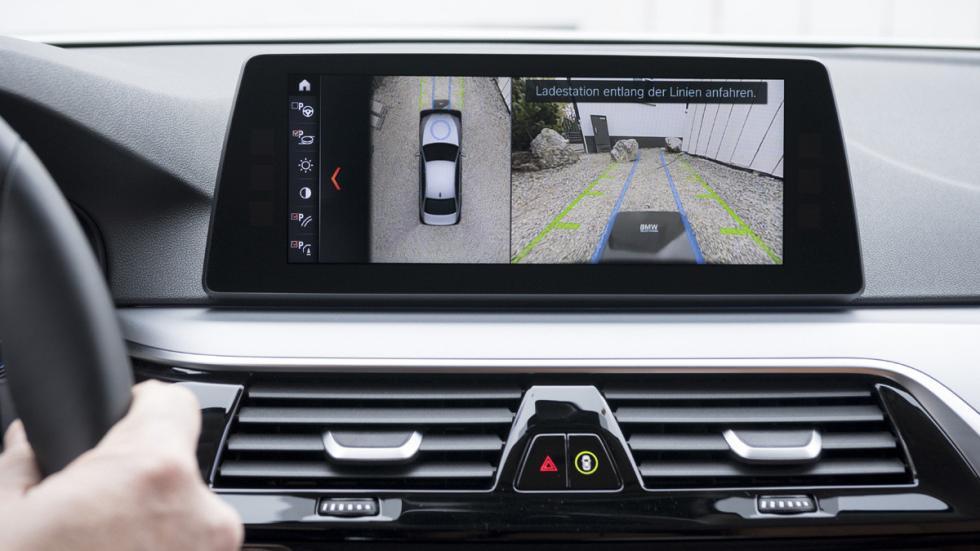 Sistema carga inalámbrica BMW 530e iPerformance pantalla