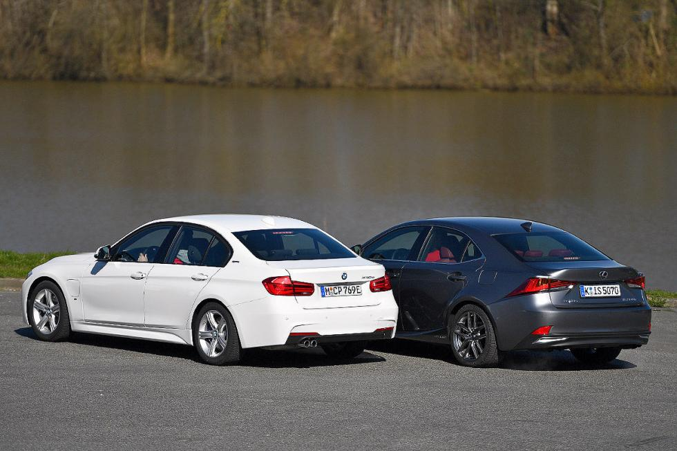 Cara a cara: BMW 330e iPerformance/Lexus IS 300h
