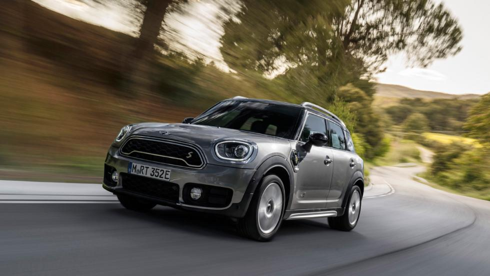 Prueba Mini Cooper S E Countryman All4