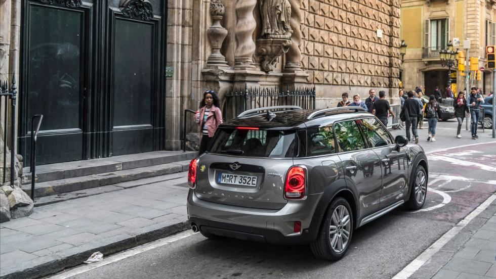 Prueba Mini Cooper S E Countryman All4 2