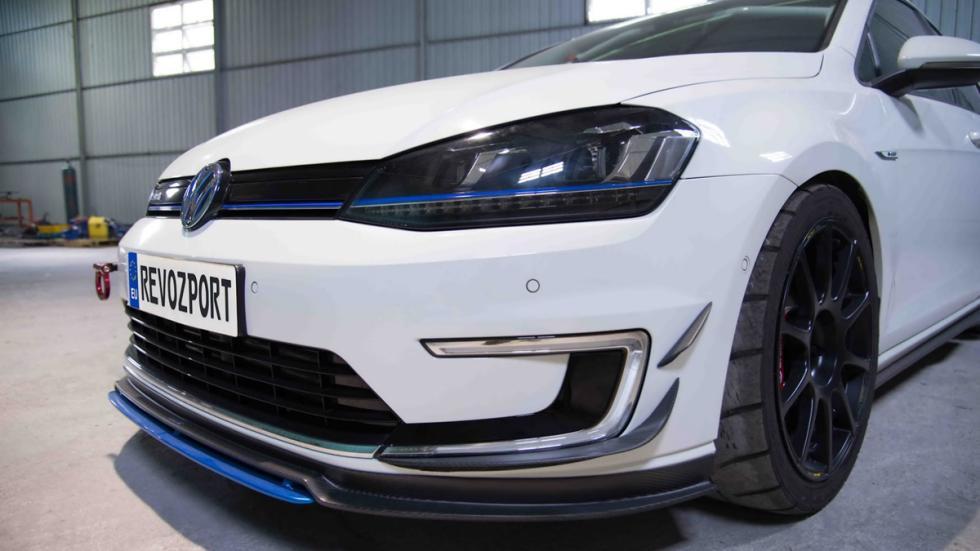 Volkswagen e-Golf 2017 RevoZport detalle delantera