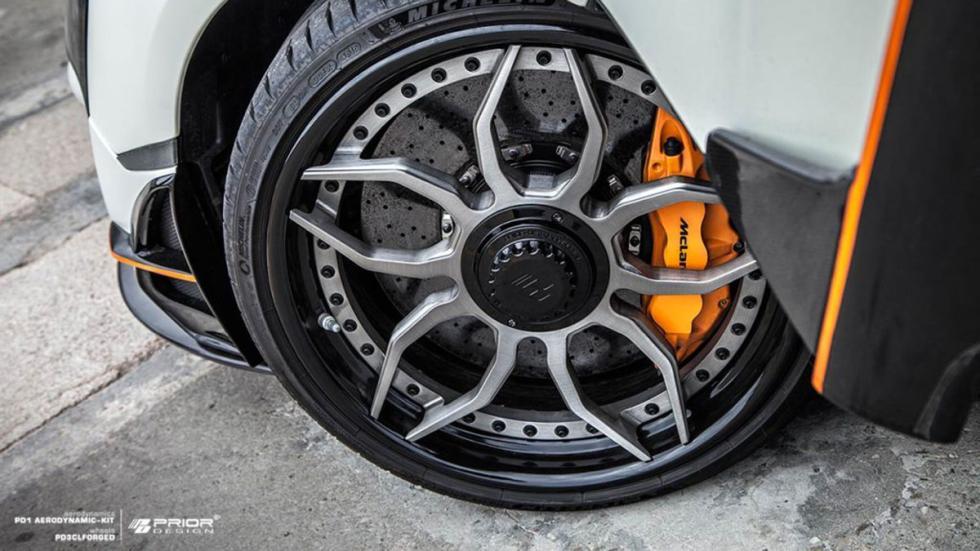 McLaren 570S Prior Design detalle llanta