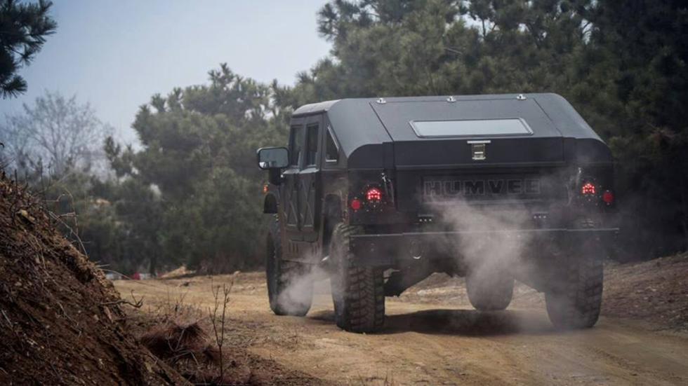 nuevo Hummer H1 zaga