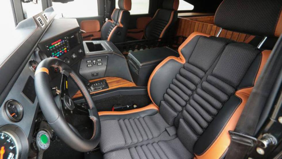 nuevo Hummer H1 interior