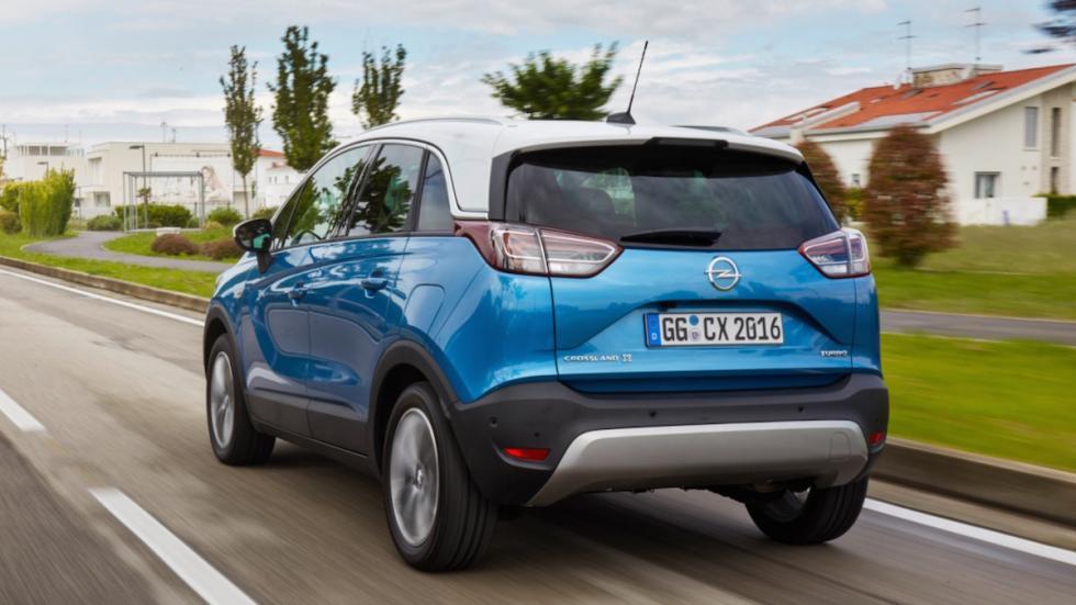 Primera prueba del Opel Crossland X