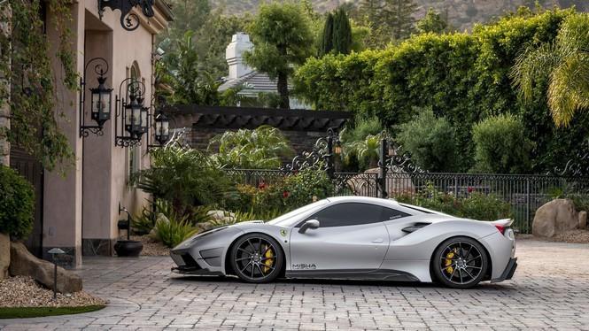 Ferrari 488 GTB Misha Design