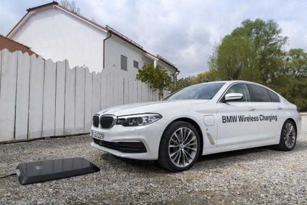 Carga inalámbrica de BMW