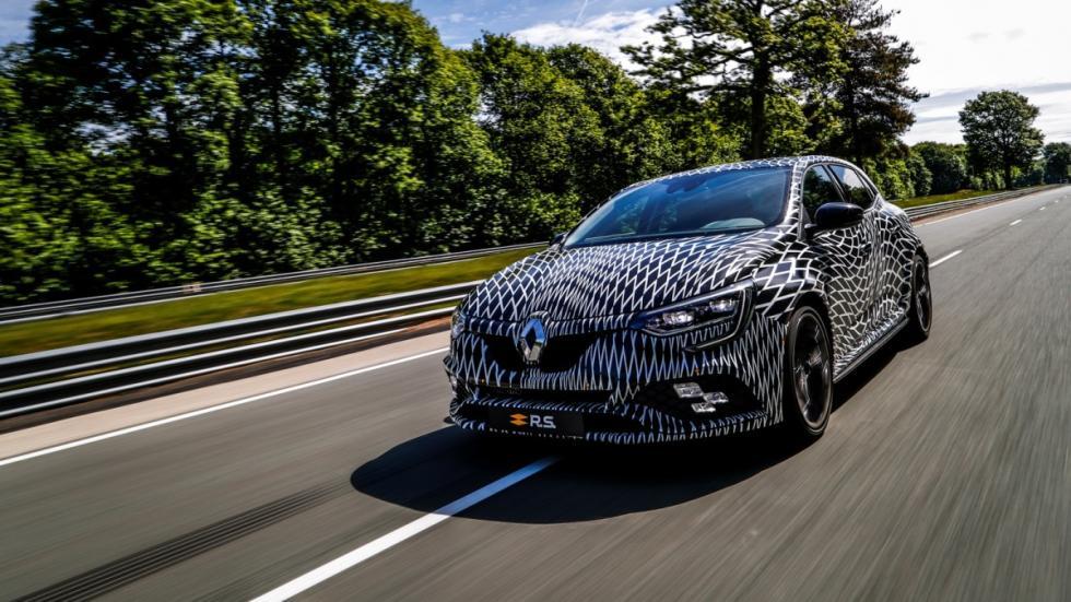 Renault Mégane RS 2018 fotos espía