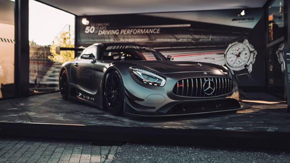 Mercedes-AMG GT3 Edition 50 frontal
