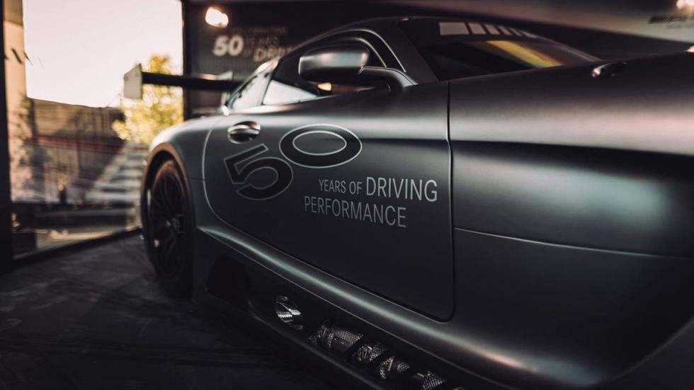 Mercedes-AMG GT3 Edition 50 lateral