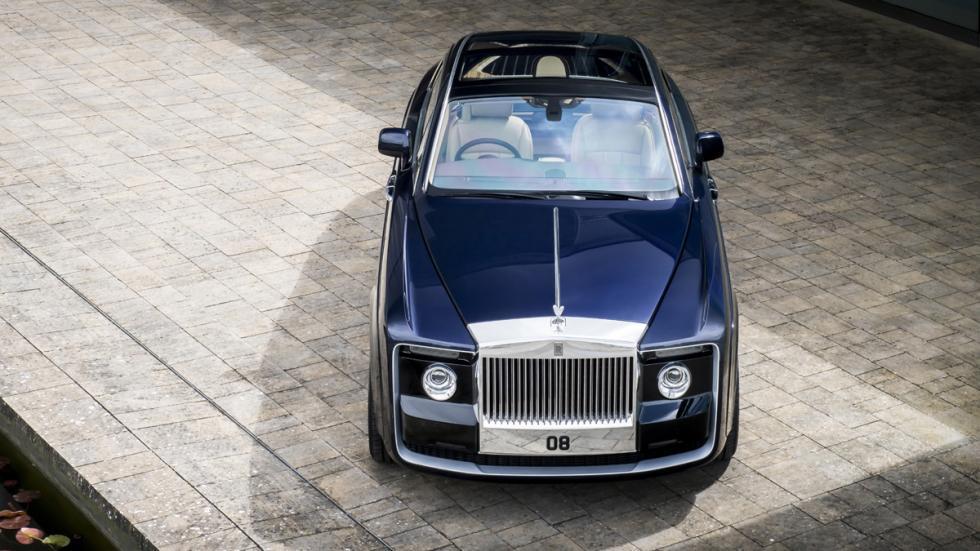Rolls-Royce Sweptail delantera
