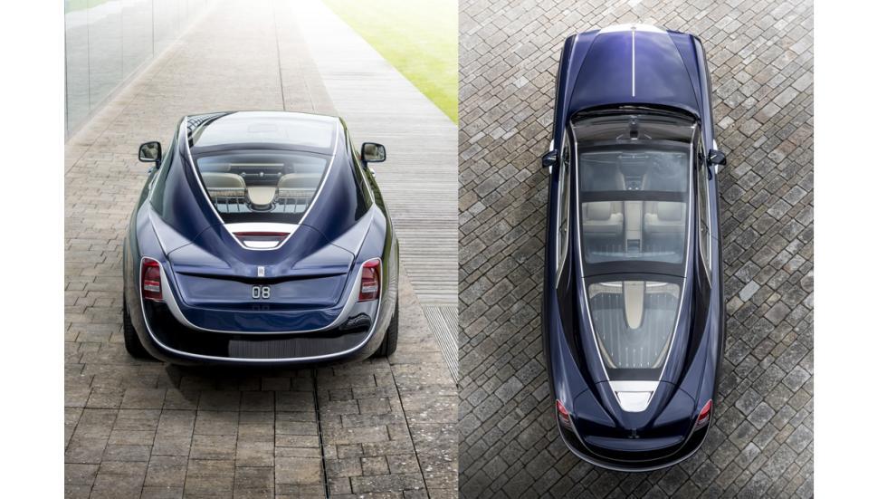 Rolls-Royce Sweptail techo