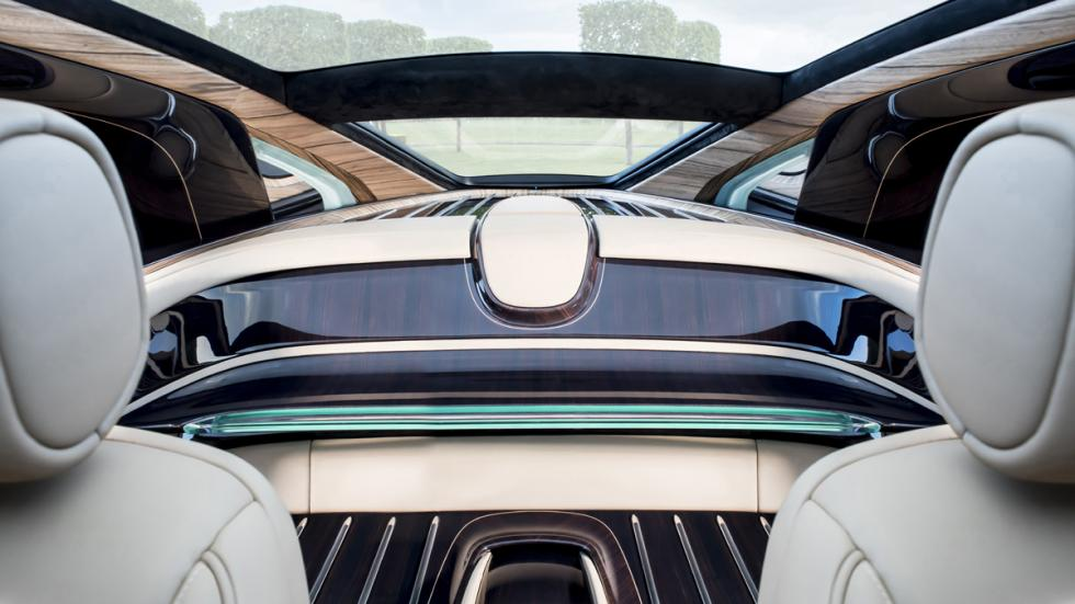 Rolls-Royce Sweptail habitáculo
