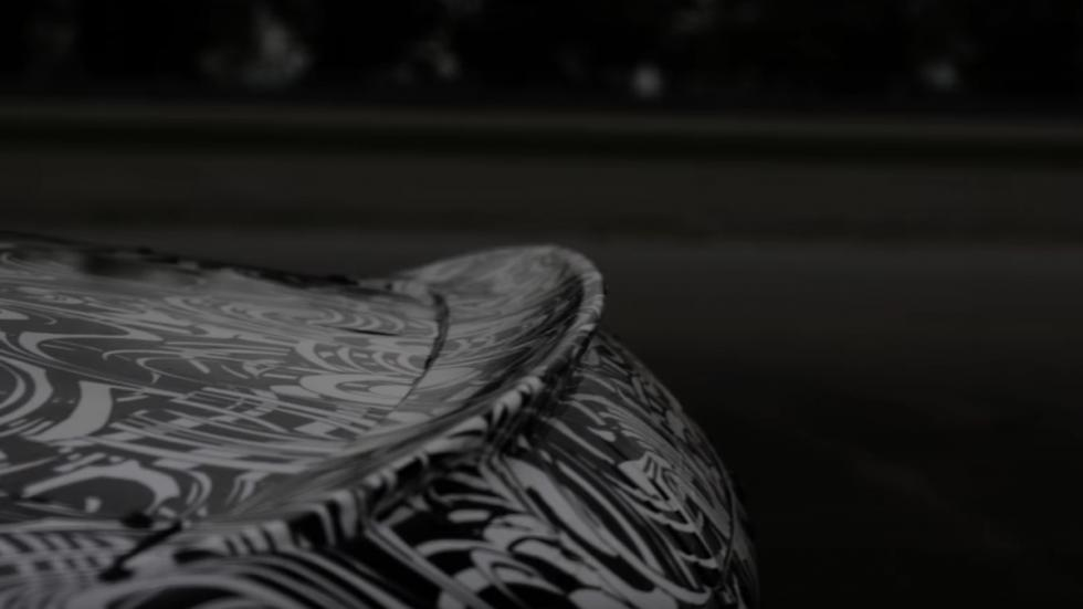 BMW M8 Coupé 2019 detalle alerón trasero