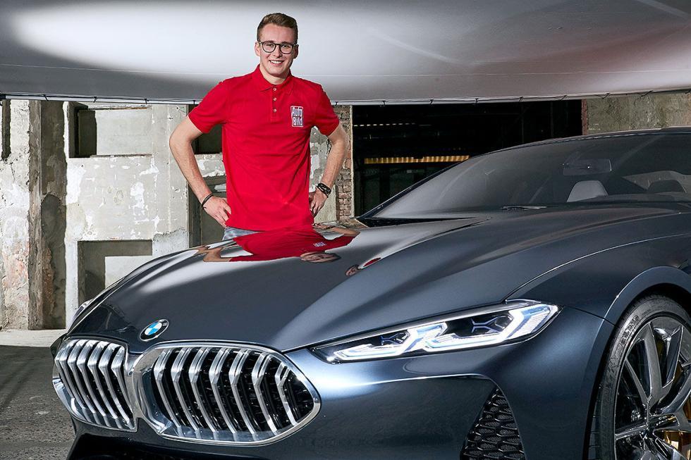 BMW Serie 8, prototipo
