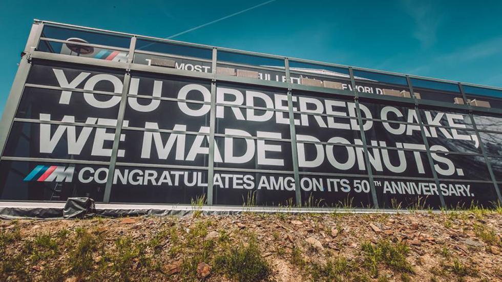 Felicitación de BMW a AMG
