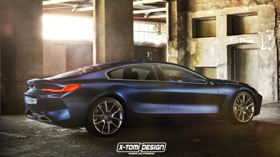 BMW Serie 8 renders