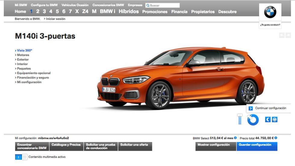 Las claves del BMW Serie 1 M140i - Disponible desde 44.750 euros