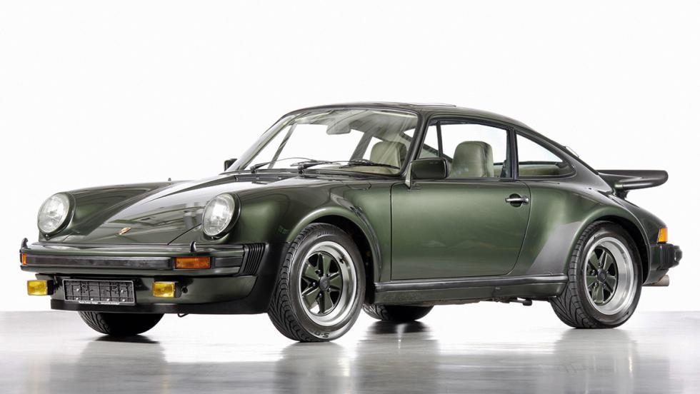 Los deportivos más elegantes de todos los tiempos - Porsche 911 Turbo (930)