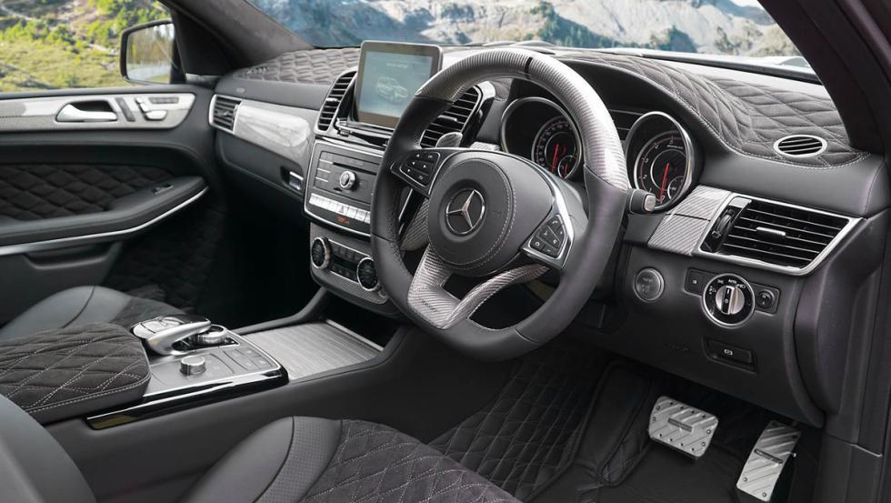 Interior del Mercedes-Benz AMG GLS 63 Mansory