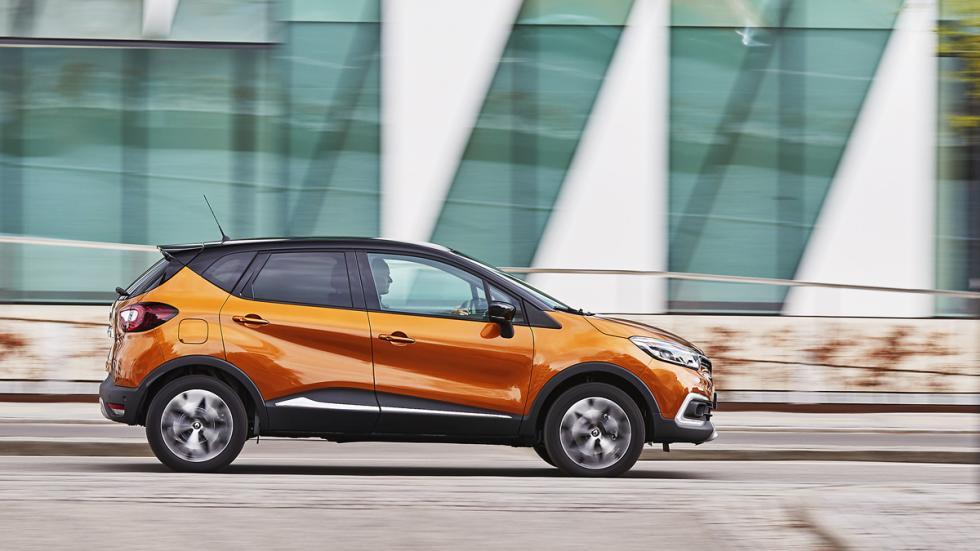 Lateral del Renault Captur 2017