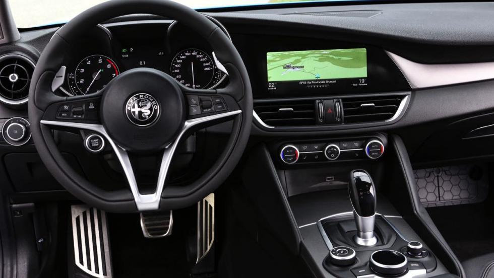 Mejor gasolina: Alfa Romeo Giulia Veloce berlina