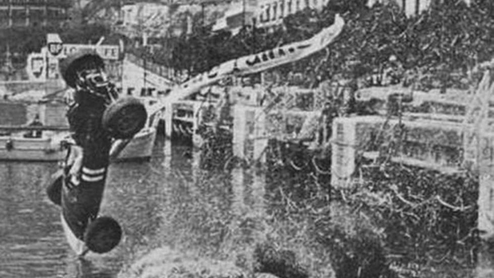¡Hombre al agua! Mónaco 1965