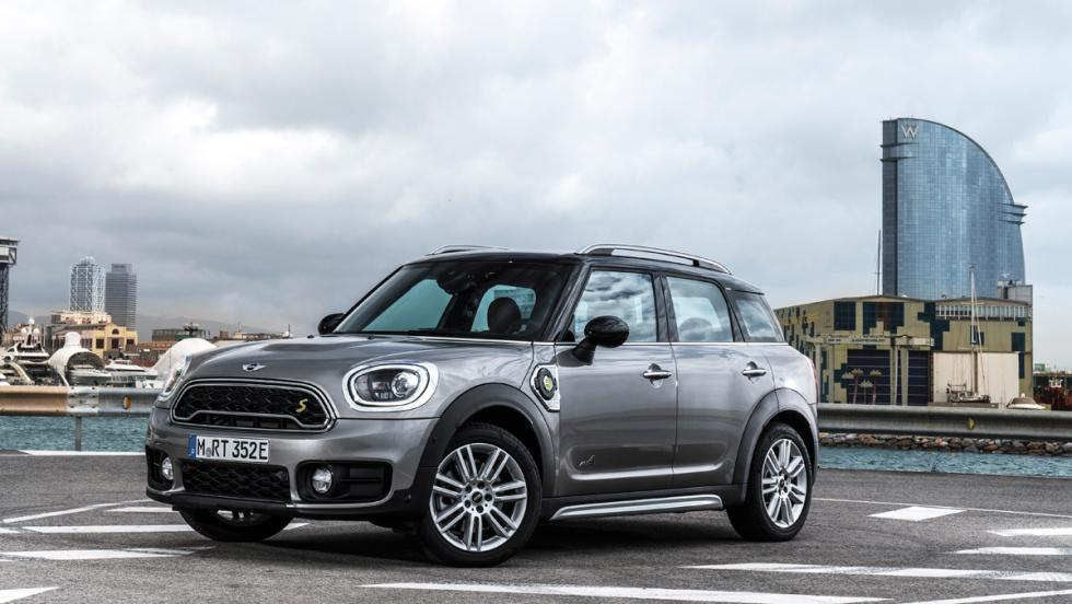 Prueba Mini Cooper S E Countryman All4 (lateral)