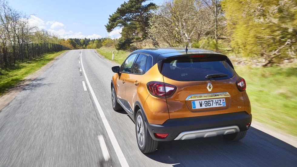 Renault Captur 2017 con los nuevos pilotos