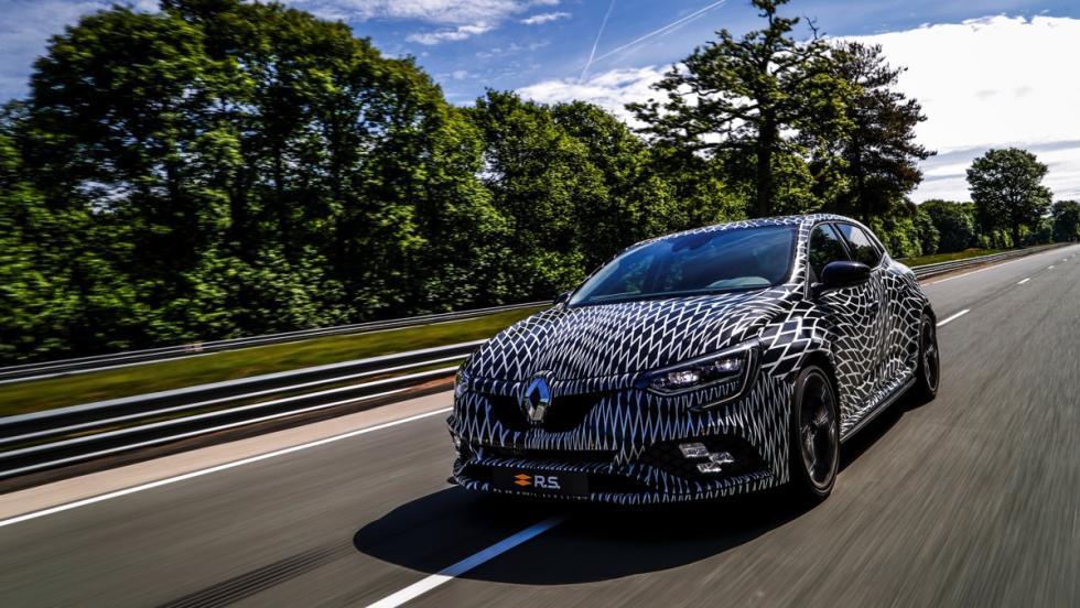 Renault Megane R.S 2017 en movimiento
