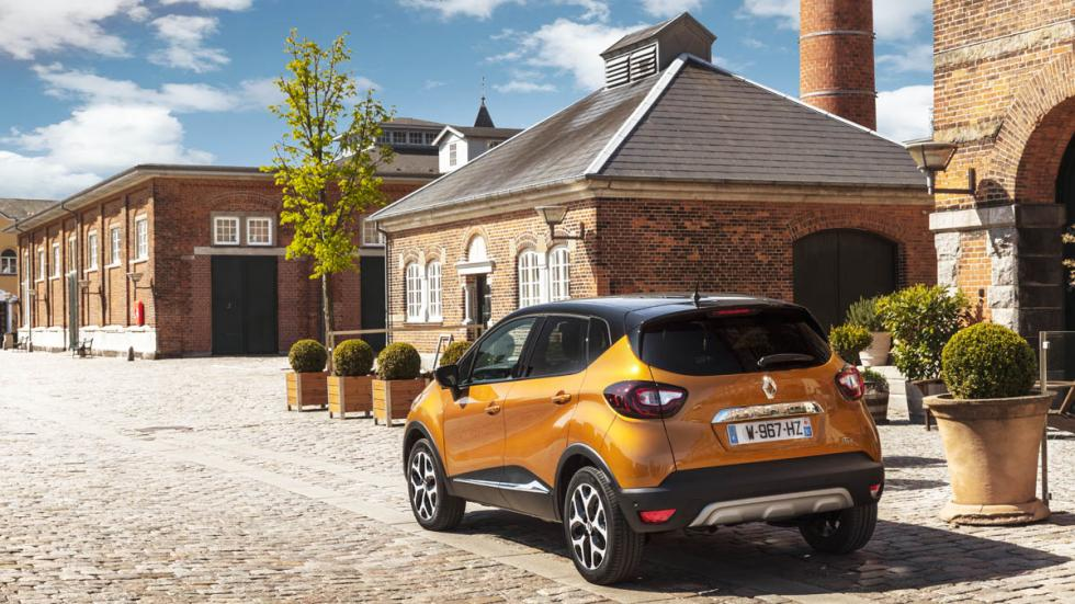 Trasera del Renault Captur 2017