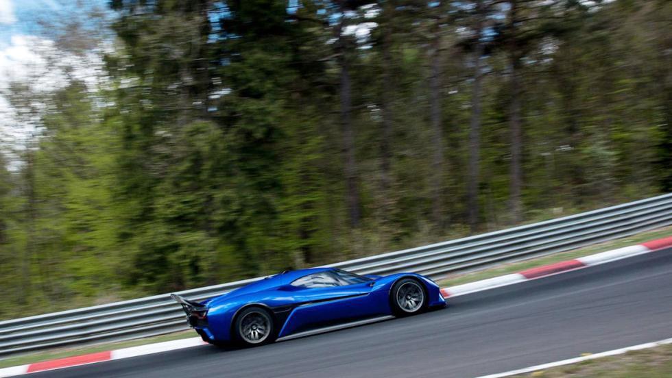 La vuelta de récord en Nürburgring del NextEV Nio EP9