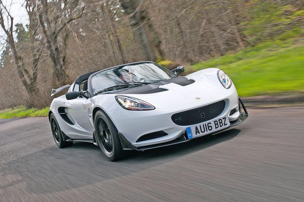Lotus Elise. 866 kilos, 134 CV, 0 a 100 km/h en 6,5 s.