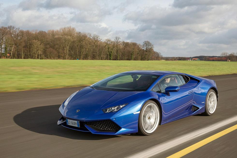 Lamborghini Huracán: 5,2 litros, 610 CV, más de 200.000 euros.