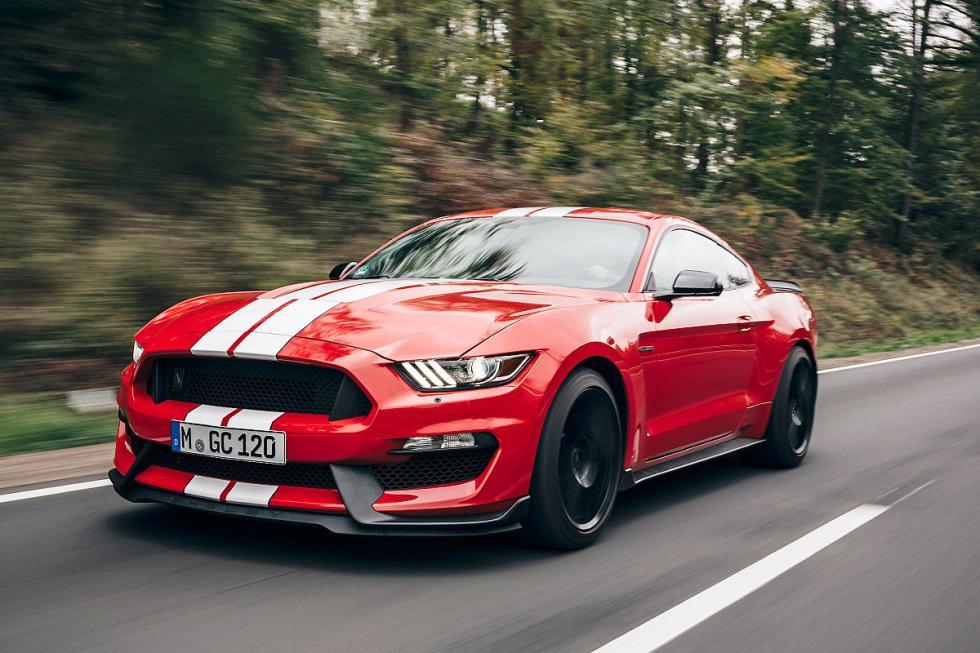 Mustang Shelby GT con un V8 de 533 CV.