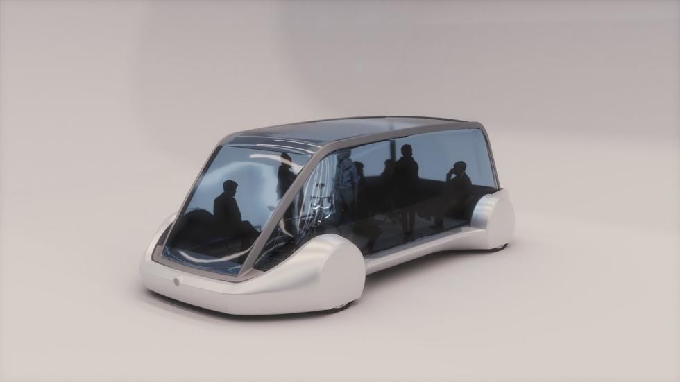 La cápsula eléctrica de Elon Musk