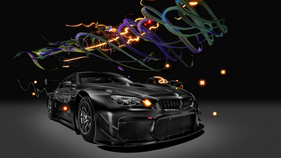 BMW M6 GT3 Art Car de Cao Fei