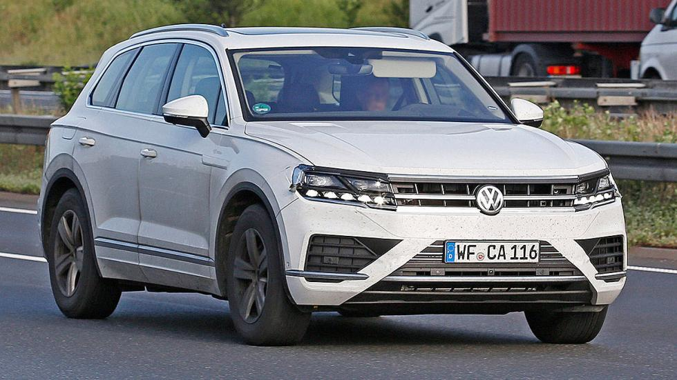 Volkswagen Touareg 2018 cazado