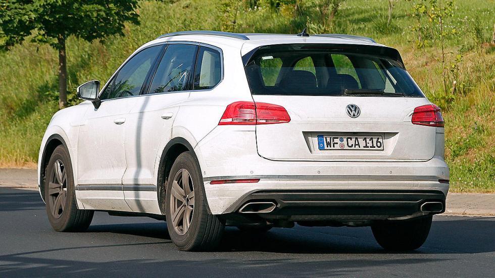 Volkswagen Touareg 2018 cazado zaga