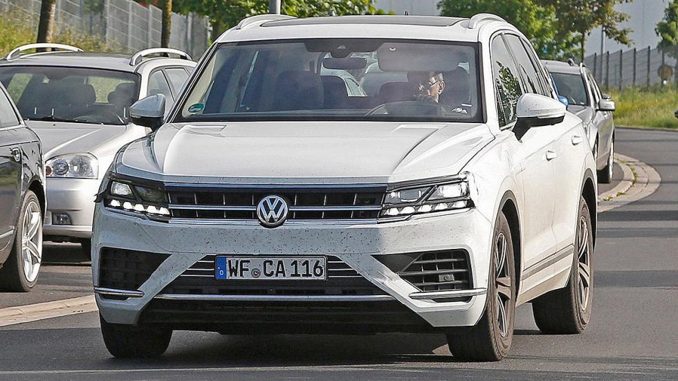 Volkswagen Touareg 2018 cazado morro