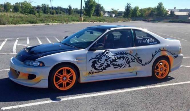 Venta Honda Civic Fast & Furious