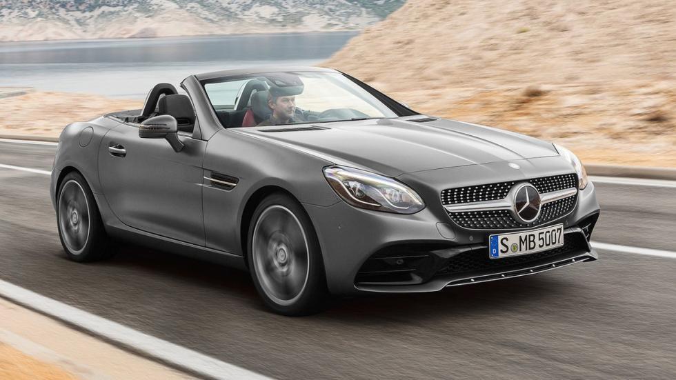 coches-mejor-gasolina-Mercedes-SLC