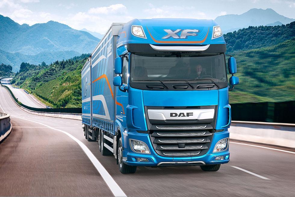 DAF XF. Turbo, 6 cilindros y 12,9 litros.