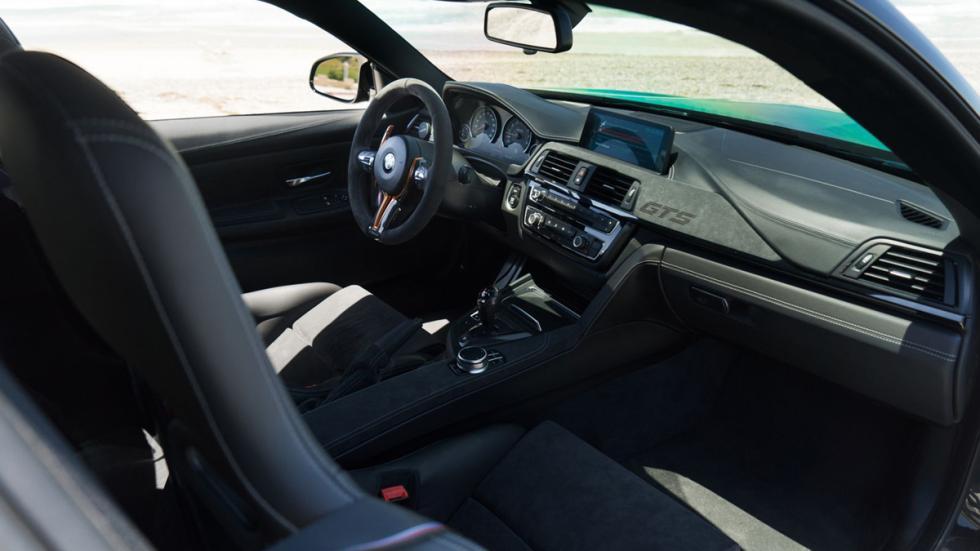 BMW M4 GTS TAG Motorsports interior