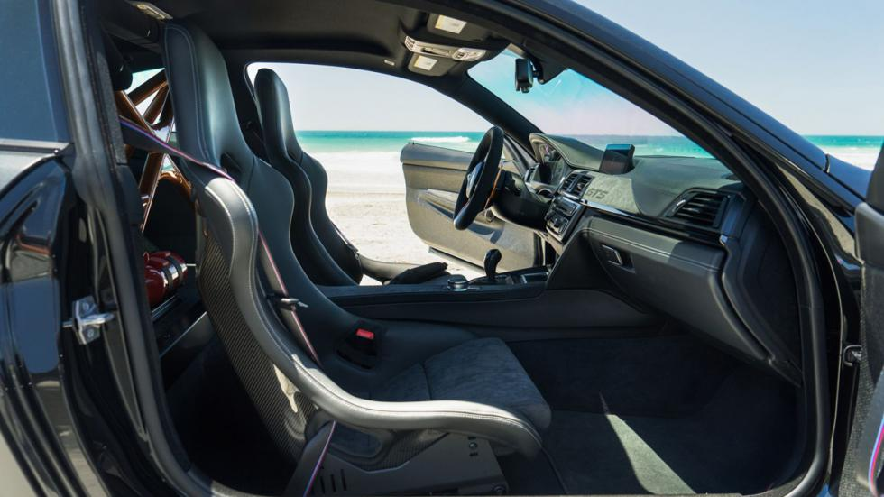 BMW M4 GTS TAG Motorsports interior 2