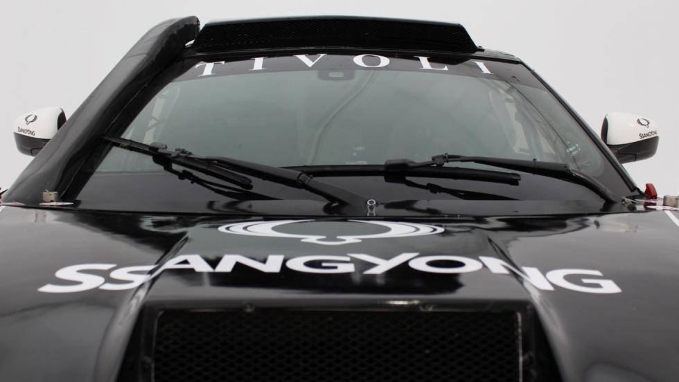 SsangYong Tivoli Rally Raid 4WD